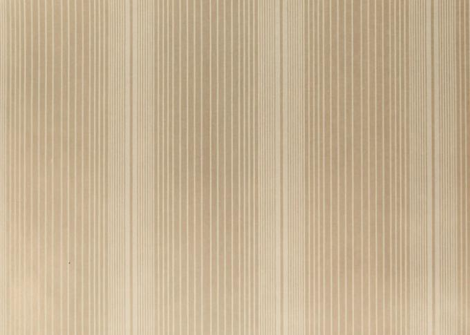 High End Striped Removable Luxury Modern Wallpaper For Living Room , Non Woven Paper