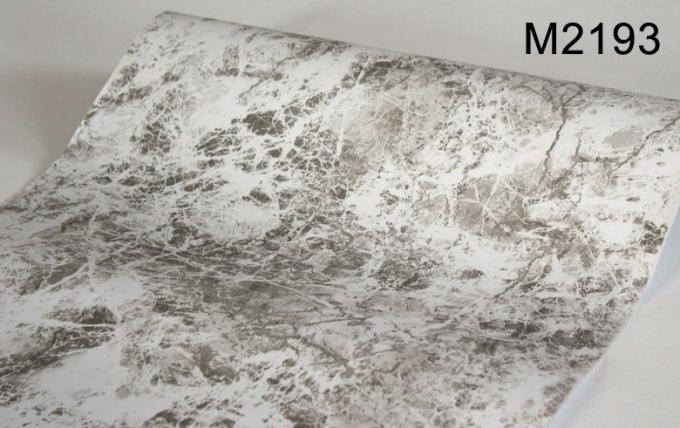 3D Effect Marble Self Adhesive Wallpaper , Home Decoration Wallpaper 0.45*10m