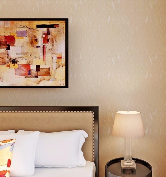Solid color washable modern removable wallpaper economical pvc wallpaper