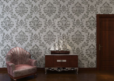 European Style Interior Decorating Wallpaper For Home / Office , ISO SGS Listed