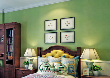 Green Color  Wall Covering Modern Removable Wallpaper For The Livingroom