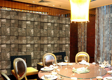 Embossed Stone Effect Contemporary Bedroom Wallpaper For Tv Wall Background