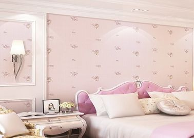 Lovely And Dreamlike Rose Contemporary Kids Bedroom Wallpaper With Romatic style