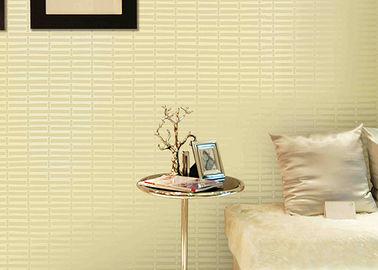 Geometric Printing PVC Modern Removable Wallpaper For Living Room