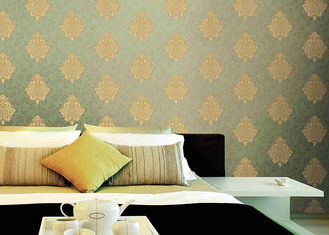 Classical Damask Pattern PVC Washable Vinyl Wallpaper European Style Wall Covering