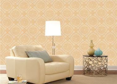 Environmental Embossed Floral European Style Wallpaper Living Room Wallcoverings