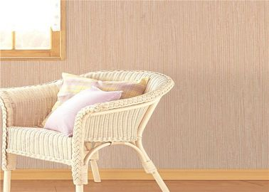 Fashion Soundproof Chivas PVC Leather Asian Style Wallpaper For Household 0.53*9.5m