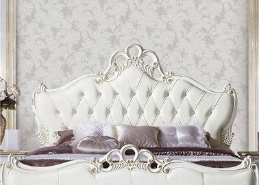 Moisture Resistant European Style Wallpaper Durable PVC Wallpaper For Bed Room / Living Room