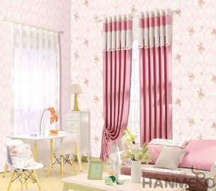 Luxury Floral PVC 0.53*10M Wallpaper European Style Living Room Bedroom Decor in Stock