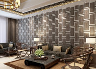 China Eco - friendly Waterproof Living Room Wallpaper , Embossed Vinyl Wallpaper company