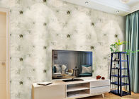 China Removable Non Woven Living Room Wallpaper 0.53*10m with American Style , SoundProof company