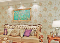 China Removable Moisture proof Country Style Wallpaper for Bedroom / TV Background company