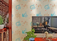 China Chinese Style Vintage Inspired Wallpaper / Moisture Resistant Wallpaper High Grade company
