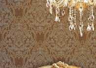 China Embossed 1.06m Korean Wallpaper / Soundproof Living Room Modern Wallpaper , Country Style company