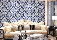 China Modern Style PVC Damask Low Price Wallpaper for Office / House Decoration , SAC CE company