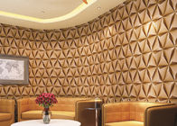 China Modern Foam Vinyl Embossed Wallpaper / Interior Design Wall Paper With 3D Effect company