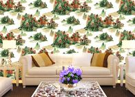 China Chinese Style contemporary wall coverings Mountains And Rivers For Sofa/TV Background company