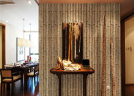 China Nature Bamboo 3d Home Wallpaper , Living Room 3d Effect Wallpaper For Walls company