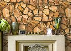 China 3D Effect Stone Pattern Durable Popular Wallpaper For House Wall With Pvc Material company