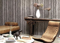 China Eco - Friendly Natural Style Durable Washable Vinyl Wallpaper With Old Tree Pattern company