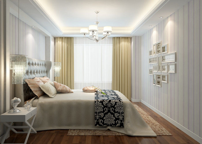 white and purple contemporary wall coverings for bedrooms
