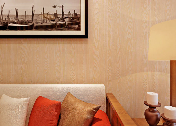 Wood Grain Nature 3D Effect Wall Coverings Contemporary Bedroom Wallpaper