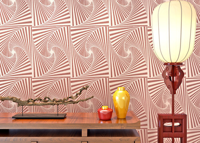 Pink Mauve Living Room 3D Home Wallpaper with Scatter Beads ...