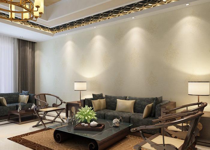 Damask Pattern Contemporary Bedroom Wallpaper European Style ...