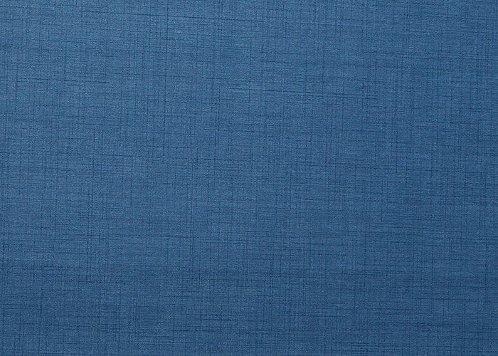 Blue solid color modern removable wallpaper with embossing economical
