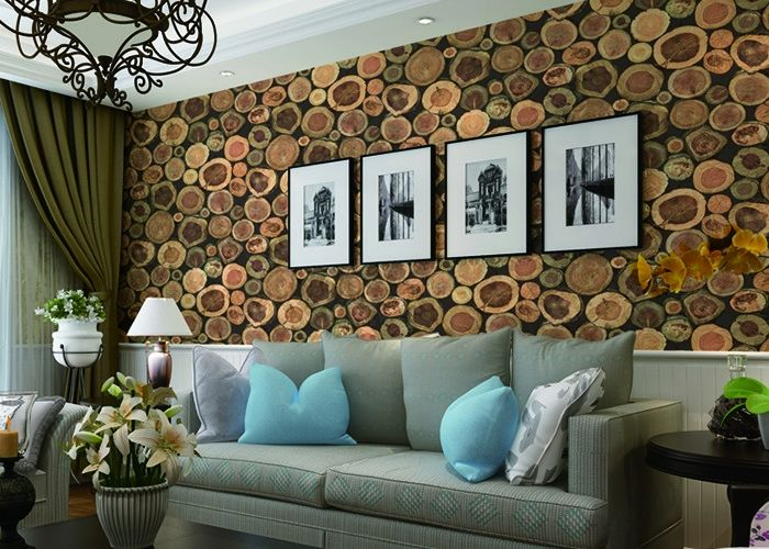 Chinese Style Embossed 3d Home Room Decoration Wallpaper For Saloon Tv Background