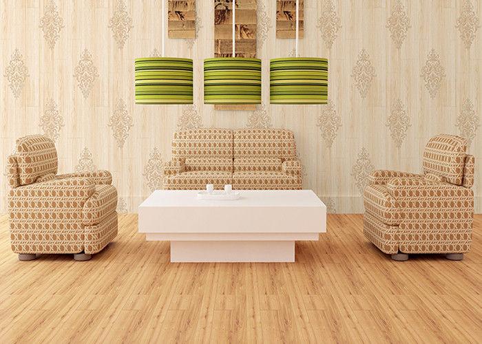 Natural Style Modern Removable Wallpaper Damask Pattern