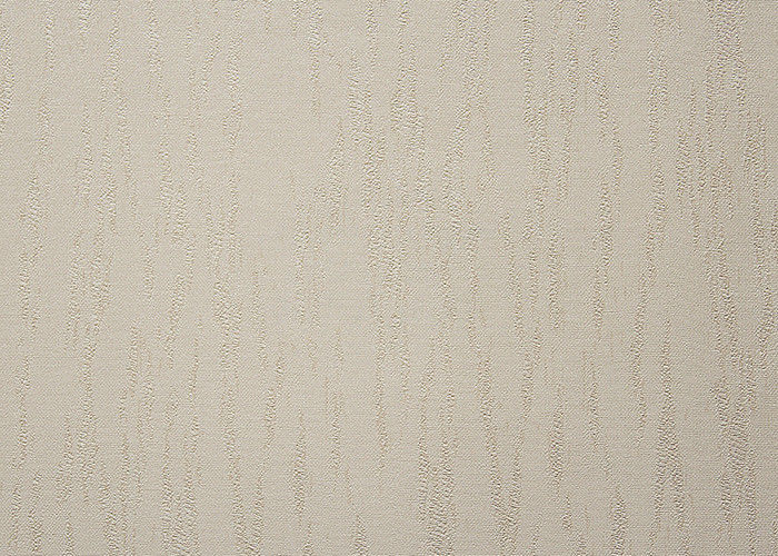 Embossed Modern Removable Wallpaper Solid Color With Line Printing