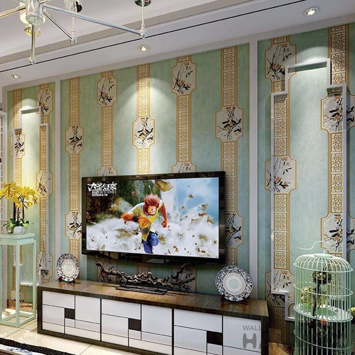 Study Room Decorative Wallcovering Chinese Factory Nature