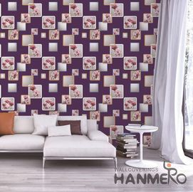 China European Modern 3D Home Wallpaper For Bedroom Walls SGS CE Certificate factory