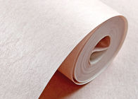 Sound Absorbing Non Woven Wallpaper / Modern Pink Wallpaper For Home , 0.53*10m