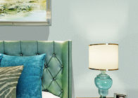 Waterproof Green Contemporary Wallpaper For Bedrooms , Interior Decorating Wallpaper